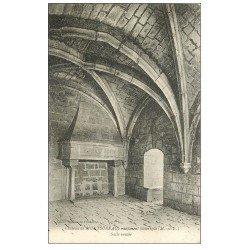carte postale ancienne 49 CHATEAU DE MONTSOREAU. Salle voutée