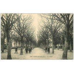 carte postale ancienne 49 CHOLET. Le Mail 1913
