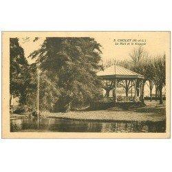 carte postale ancienne 49 CHOLET. Mail et Kiosque