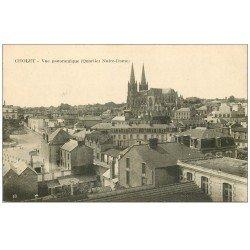 carte postale ancienne 49 CHOLET. Quartier Notre-Dame