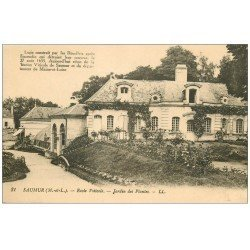 carte postale ancienne 49 SAUMUR. Ecole Viticole Jardin des Plantes