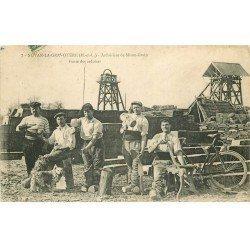 49 NOYAN-LA-GRAVOYERE. Fente des ardoises 1907. Ardoiserie de Mison-Grain. Vieux Métiers Artisans ardoisiers