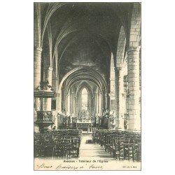 carte postale ancienne 59 AVESNES. L'Eglise 1903