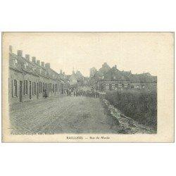 carte postale ancienne 59 BAILLEUL. Rue du Musée