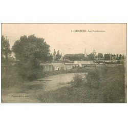 carte postale ancienne 59 BERGUES. Les Fortifications 1915