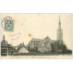 carte postale ancienne 59 CAMBRAI. Eglise 1904