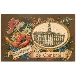 carte postale ancienne 59 CAMBRAI. Hôtel de Ville
