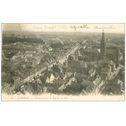 carte postale ancienne 59 CAMBRAI. Panorama