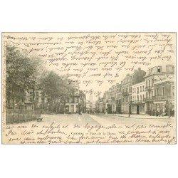 carte postale ancienne 59 CAMBRAI. Rue de la Herse 1903