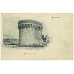 carte postale ancienne 59 CAMBRAI. Tour Abancourt vers 1900
