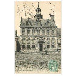carte postale ancienne 59 CASSEL. Ancien Hôtel de Ville 1907