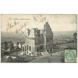 carte postale ancienne 59 CASSEL. Château Lorentz 1907