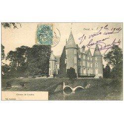 carte postale ancienne 59 DOUAI. Château de goeulzin 1904