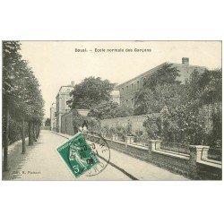 carte postale ancienne 59 DOUAI. Ecole Normale des Garçons 1908