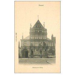 carte postale ancienne 59 DOUAI. Maison des Rémy vers 1900