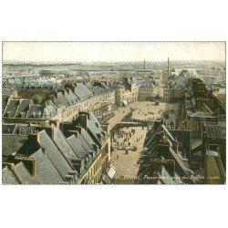 carte postale ancienne 59 DOUAI. Panorama colorisé