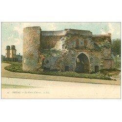 carte postale ancienne 59 DOUAI. Porte d'Arras 1909