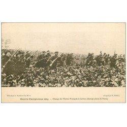 carte postale ancienne 59 DUNKERQUE. Charge de Marins Français à travers Champs