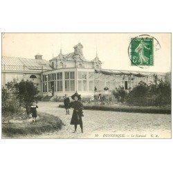 59 DUNKERQUE. Lot 5 Cpa. Kursaal, Bassin Commerce Quai Hollandais, Hôtel de Ville, Citadelle, Château d'Eau