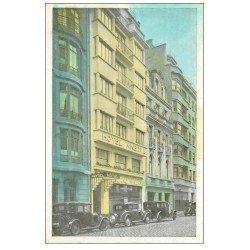 carte postale ancienne 59 LILLE. Hôtel Minerva 24 rue Anatole France. Voiture Citroën B2