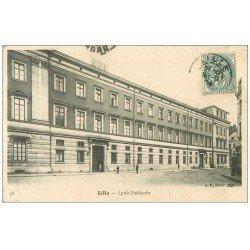 carte postale ancienne 59 LILLE. Lycée Faidherbe 1904