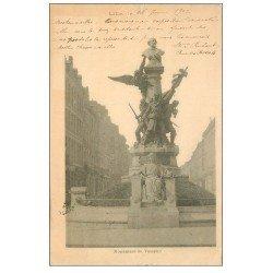 carte postale ancienne 59 LILLE. Monument de Testelin 1902