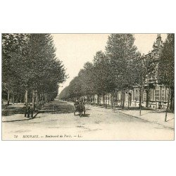 carte postale ancienne 59 ROUBAIX. Boulevard de Paris