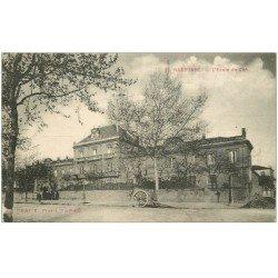 carte postale ancienne 11 NARBONNE. Ecole de la Cité 1915