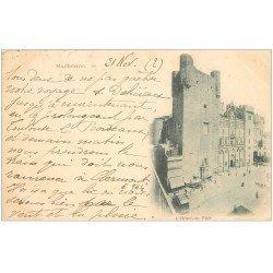 carte postale ancienne 11 NARBONNE. L'Hôtel de Ville 1900