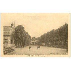 carte postale ancienne 59 WARGNIES-LE-GRAND. La Place