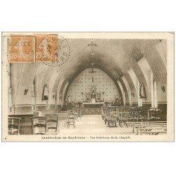 carte postale ancienne 59 ZUYDCOOTE. Sanatorium 1912 Chapelle