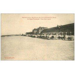 carte postale ancienne 59 ZUYDCOOTE. Sanatorium avec convalescents sur lits