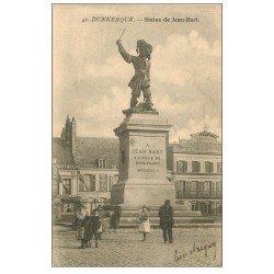 Superbe Lot de 10 Cpa DUNKERQUE 59. Jean-Bart, Chambre Commerce, Rue Eglise, Ecluse Bergues, Revue Navale etc...