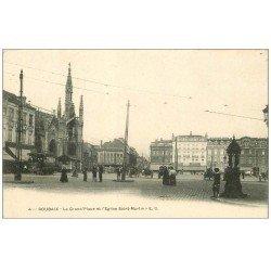 Lot de 10 Cpa ROUBAIX 59. Grand Place, Eglise, Tribunal, Gare, Parc Barbieux, Hôtel de Ville, Marché, Ecole Beaux-Arts