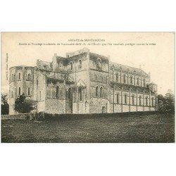 carte postale ancienne 50 ABBAYE DE MONTEBOURG. Notre-Dame de l'Etoile