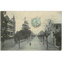 carte postale ancienne 50 AVRANCHES. Boulevard du Sud 1906