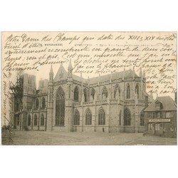 carte postale ancienne 50 AVRANCHES. Eglise Notre-Dame des Champs Abside 1904