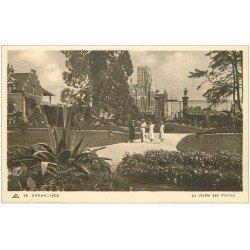 carte postale ancienne 50 AVRANCHES. Jardin des Plantes