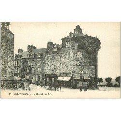 carte postale ancienne 50 AVRANCHES. La Tourelle