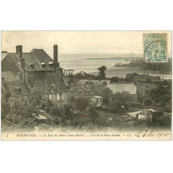 carte postale ancienne 50 AVRANCHES. Vue Plate-Forme 1905