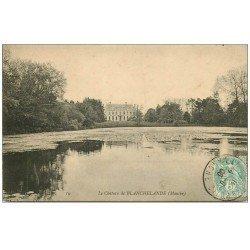 carte postale ancienne 50 BLANCHELANDE. Le Château 1906