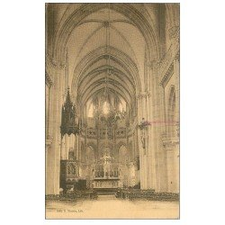 carte postale ancienne 50 BRICQUEBEC. Eglise