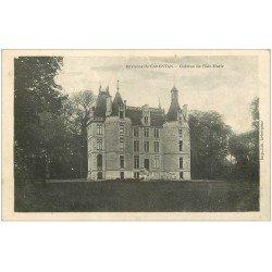 carte postale ancienne 50 CARENTAN. Château de l'Isle-Marie