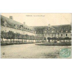 carte postale ancienne 50 CARENTAN. Square Hervé Mangon 1906