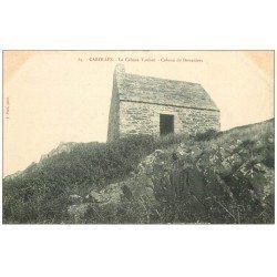 carte postale ancienne 50 CAROLLES. Cabane Vauban des Douaniers 64