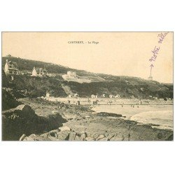 carte postale ancienne 50 CARTERET. La Plage 1912