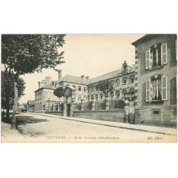 carte postale ancienne 50 COUTANCES. Ecole Normale Institutrices 1916