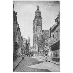 carte postale ancienne 50 COUTANCES. Eglise Saint-Pierre et Serrurerie