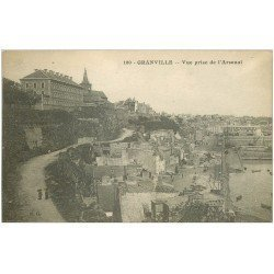 carte postale ancienne 50 GRANVILLE. Arsenal 1919