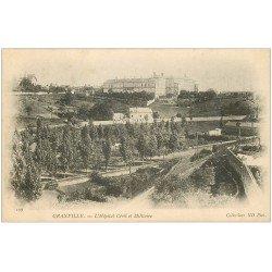 carte postale ancienne 50 GRANVILLE. Hôpital Civil et Militaire